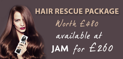 JAM Hair introduce the Ultimate Hair Rescue Package