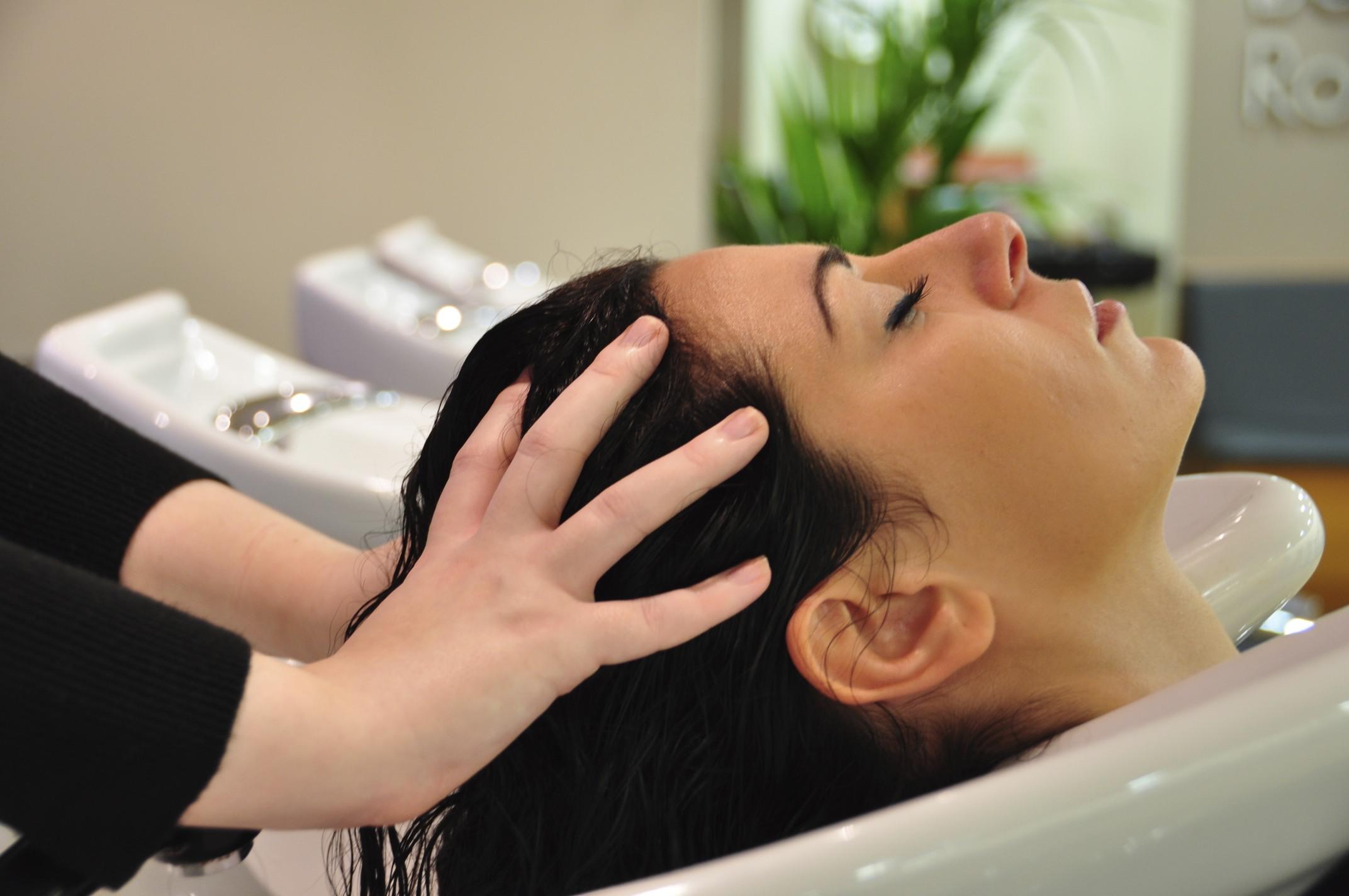 online massage rood haar