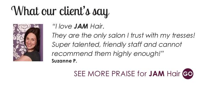Praise for Jam Hair