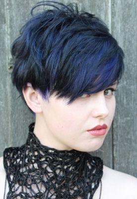 short-hair-cut-blue-colour