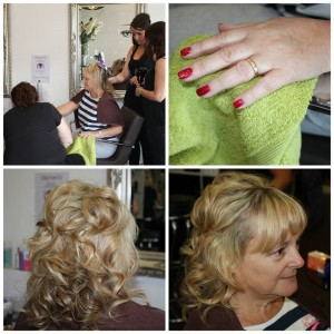 Jane at our pamper night at JAM hair Croydon
