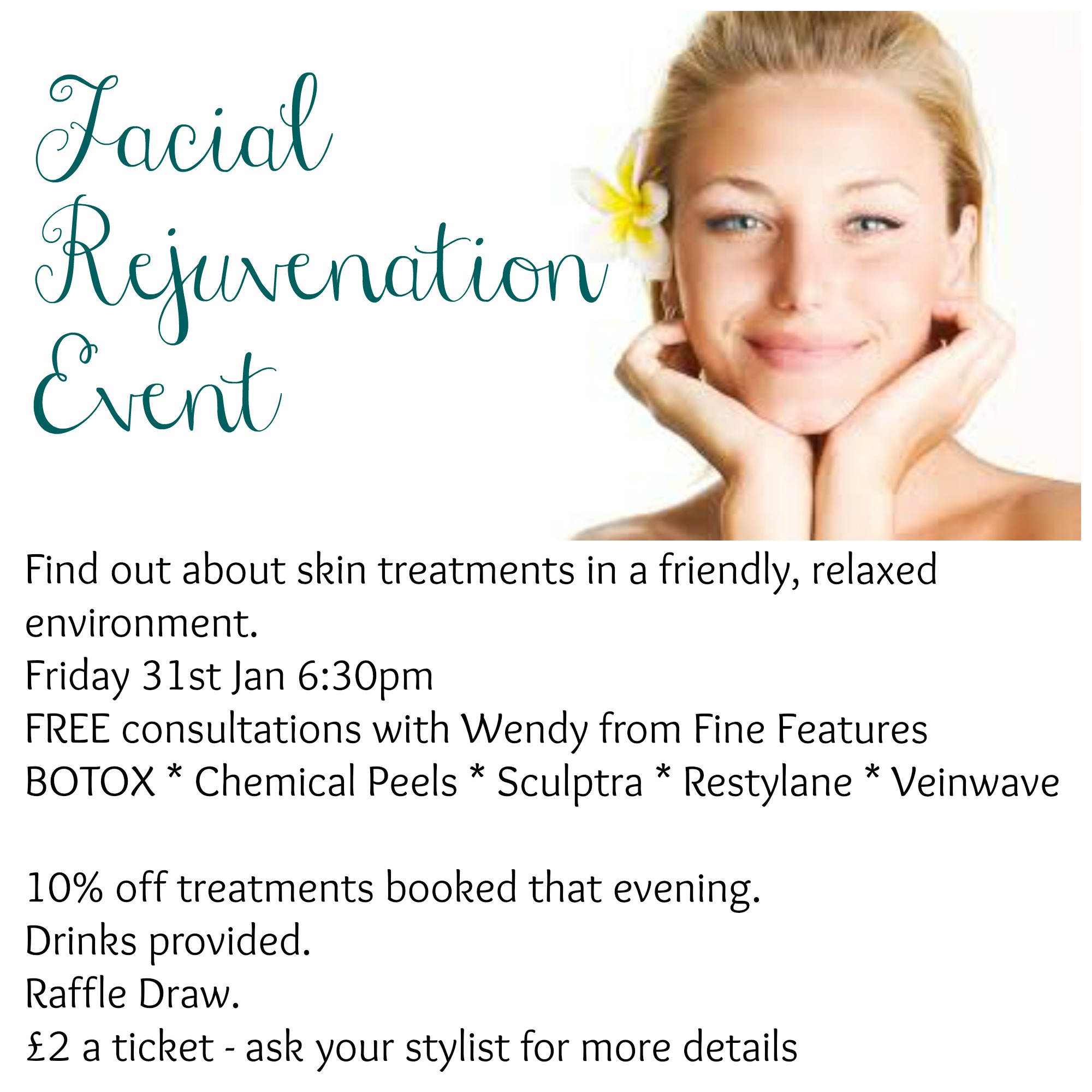 Fine Features Croydon – Skin Rejuvenation Evening at JAM