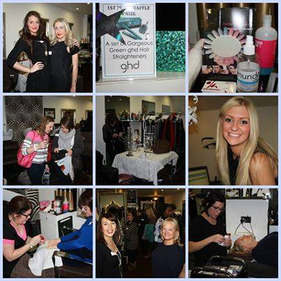 20 Pamper party event  in December over 50 people came to the event