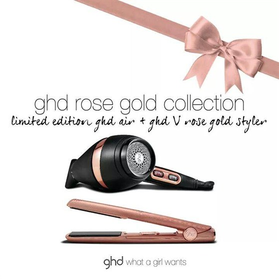 *Christmas Gift Set* ghd Rose Gold Collection