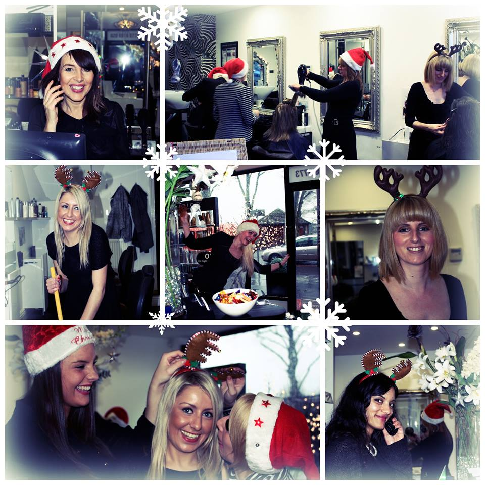 christmas at jam hair salon croydon