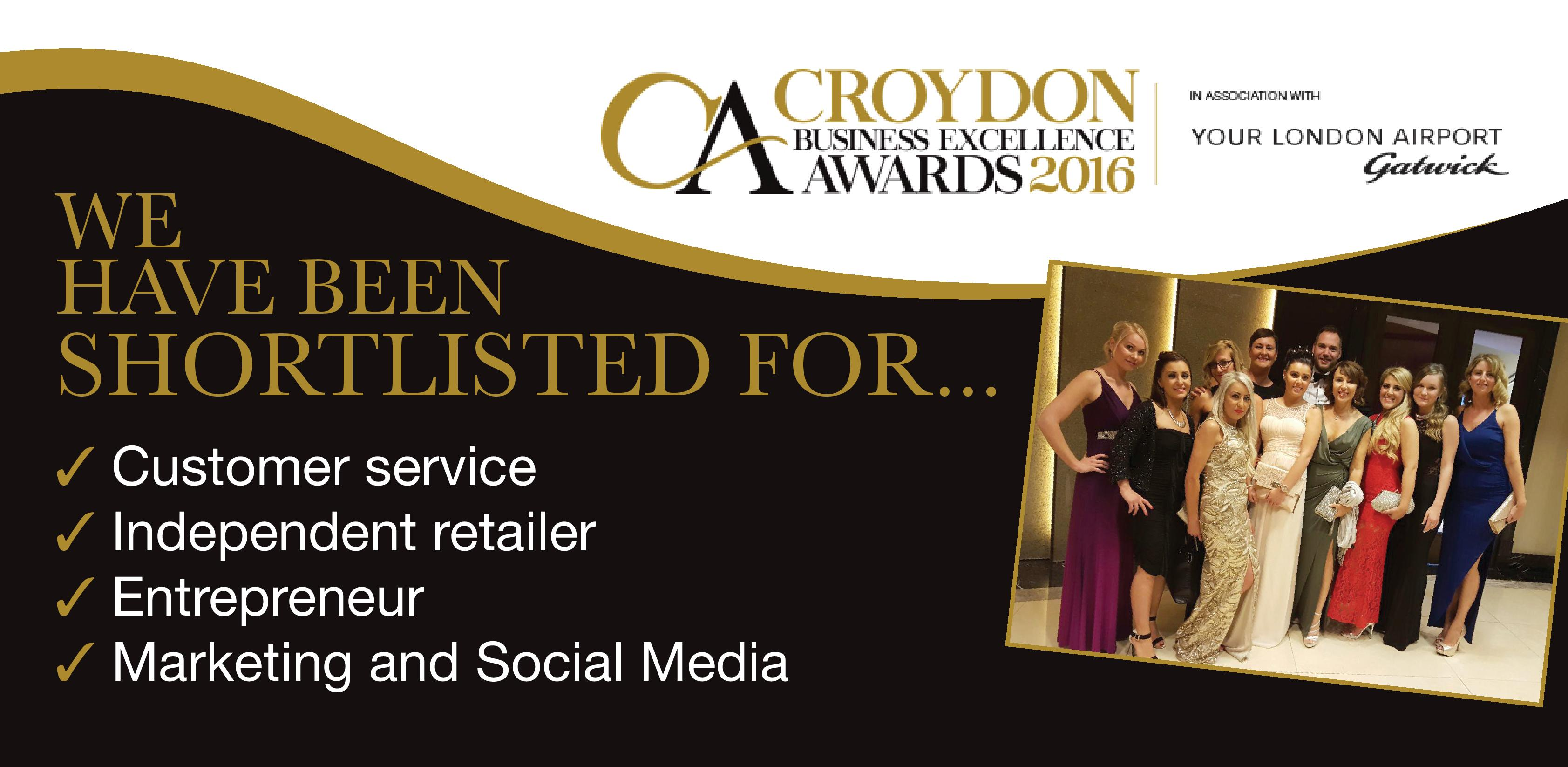 JAM HAIR are finalists at the Croydon Business Excellence Awards