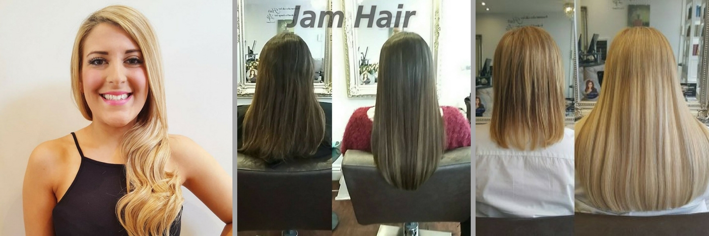 Hair Extensions At JAM HAIR