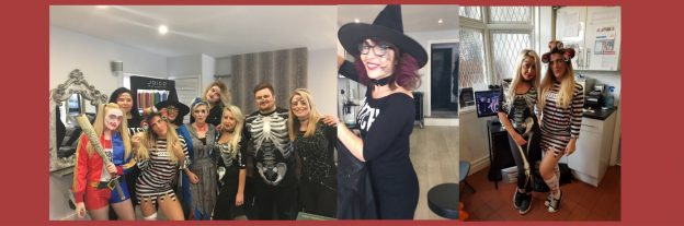 halloween jam hair salon