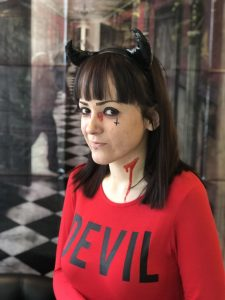 Caitlin Little Devil assistant