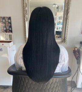 Darkest brown hair extensions